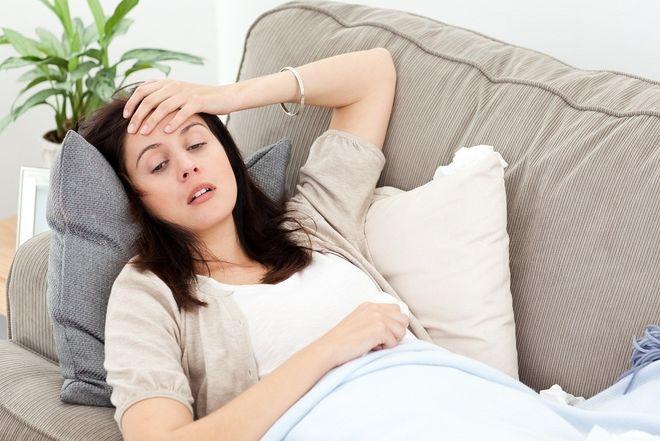 sự phát triển của tử cung gây khó thở ở mẹ bầu