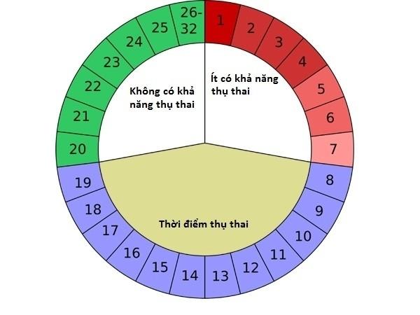 Để xác định thời điểm quan hệ không có thai, chị em phải tính toán kỹ lưỡng dựa trên chu kỳ kinh nguyệt hàng tháng của mình
