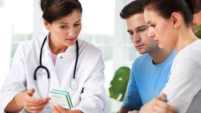 nếu nghi ngờ cho việc có thai, hãy đến các cơ sở y tế gần nhất, để được thăm khám cũng như nhận lời khuyên của bác sỹ.