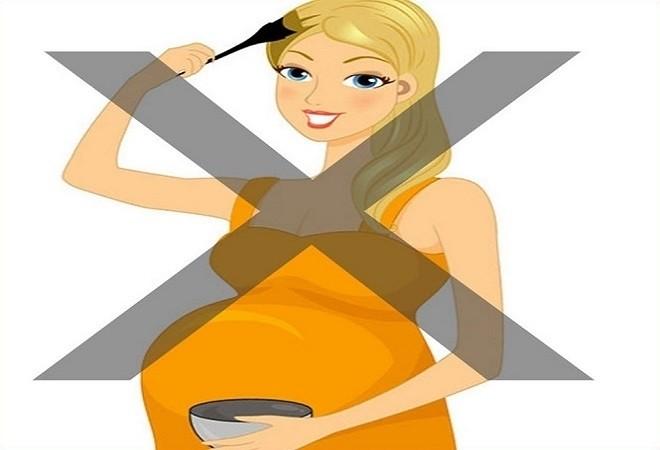 mẹ bầu tuyệt đối nói không với thuốc nhuộm tóc