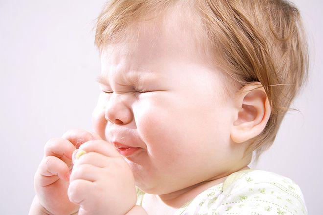 bé 4 tháng bị sổ mũi do hệ miễn dịch kém