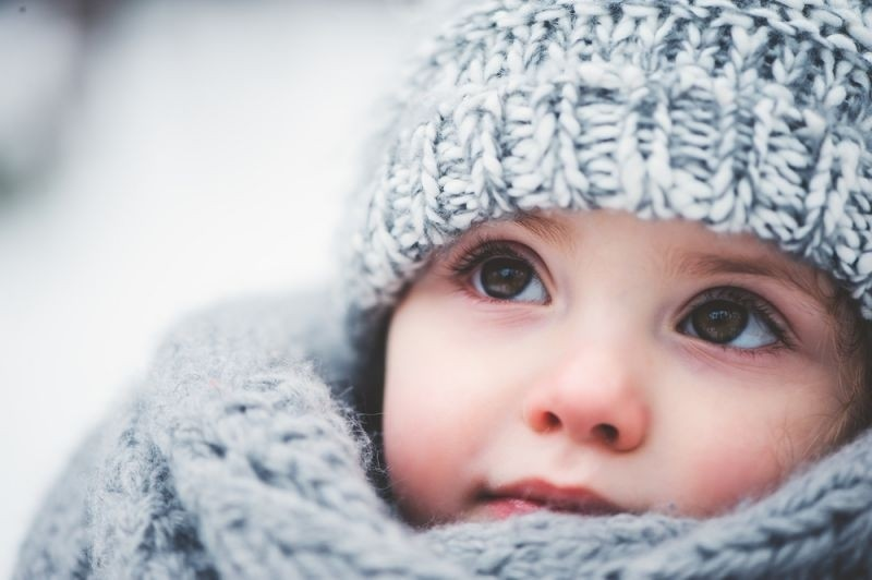 Giữ ấm cho bé
