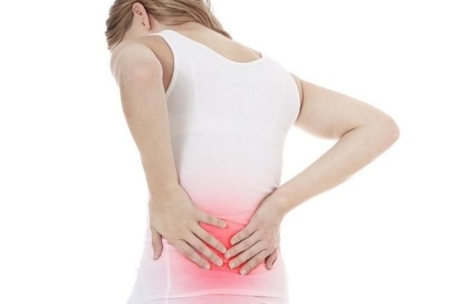 đặt vòng tránh thai gây đau ở phần lưng gần xương hông