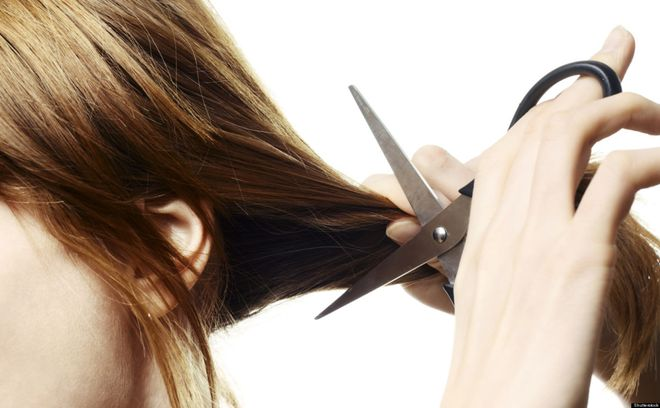 khi mang thai cấu trúc tóc thay đổi cần cắt tỉa gọn gàng