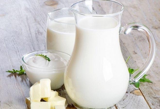 phô mai và sữa