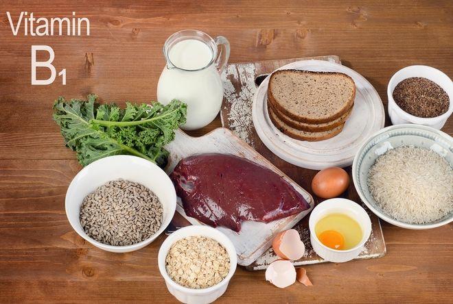 thực phẩm vitamin b1