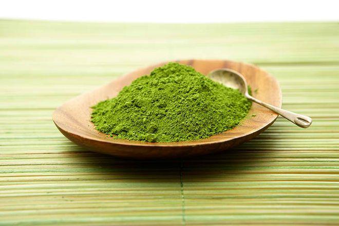 bột trà xanh có nhiều công dụng