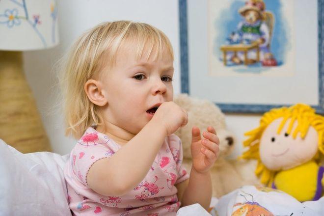 trẻ bị ho nhiều không sốt
