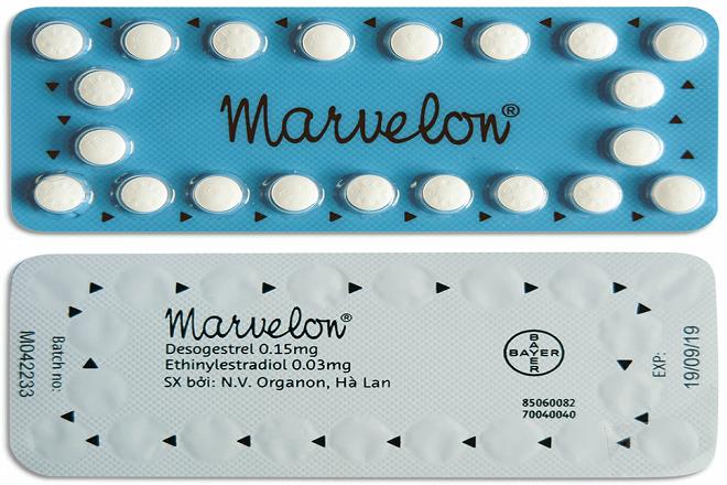 thuốc ngừa thai hàng ngày marvelon