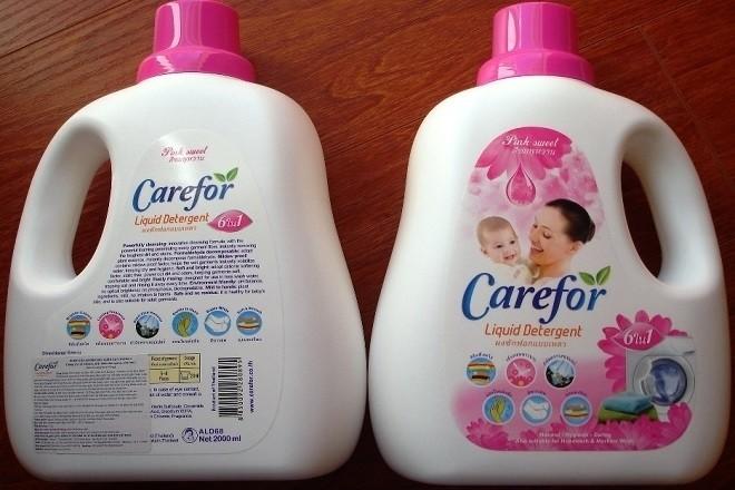 dùng nước xả vải thích hợp khi giặt đồ cho bé