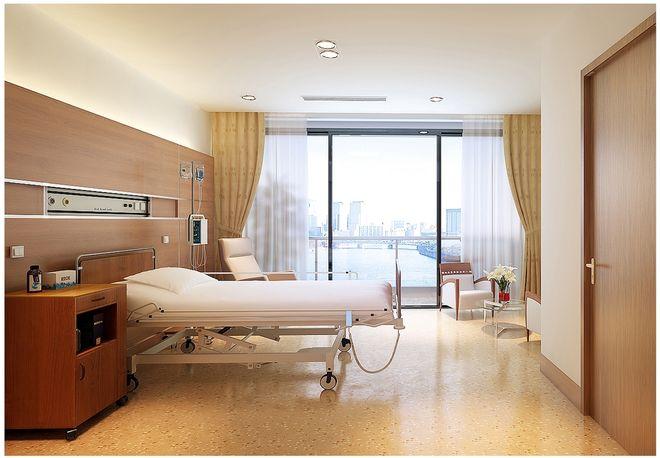 Khu vực chăm sóc đặc biệt được trang bị đầy đủ các thiết bị