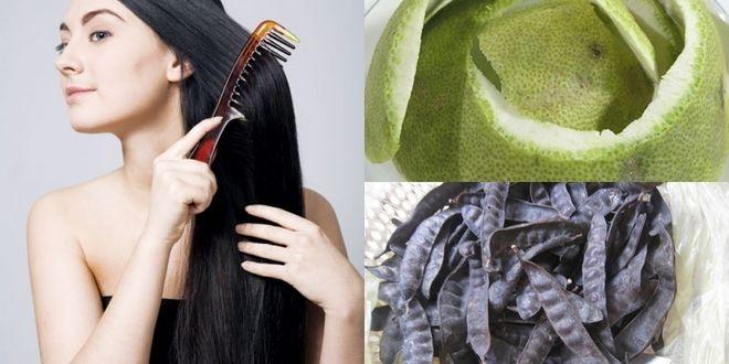llàm tóc với các thành phần tự nhiên