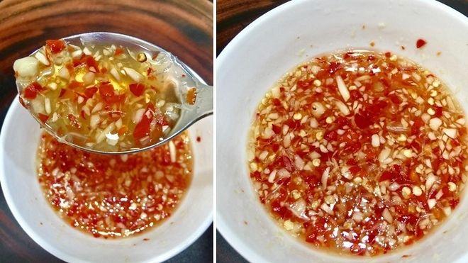 Bát nước mắm kẹo hoàn chỉnh có đủ vị chua cay mặn ngọt