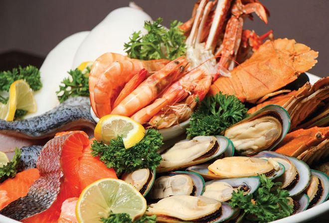 nguyên liệu cho lẩu hải sản