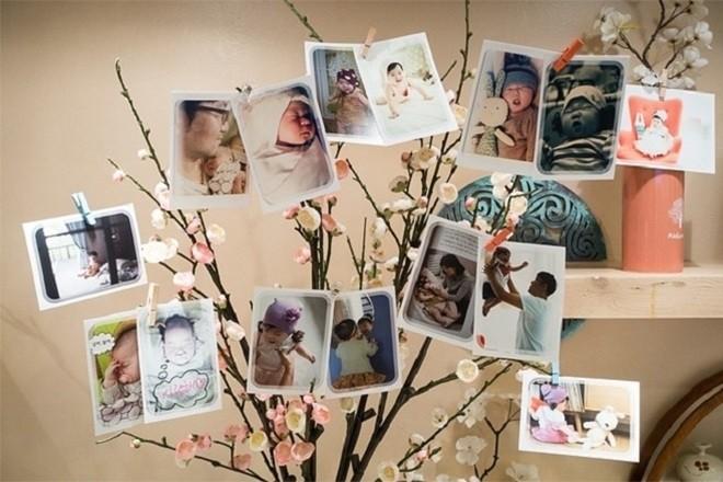 các tấm ảnh về quá trình lớn lên của bé