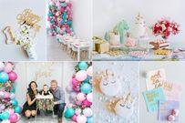 Tổ chức tiệc sinh nhật cho bé 1 tuổi vui mà không tốn kém