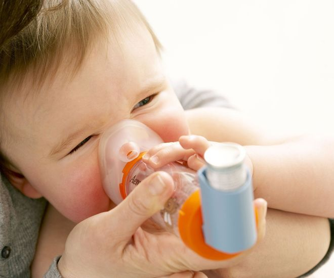 Trẻ bị hen suyễn