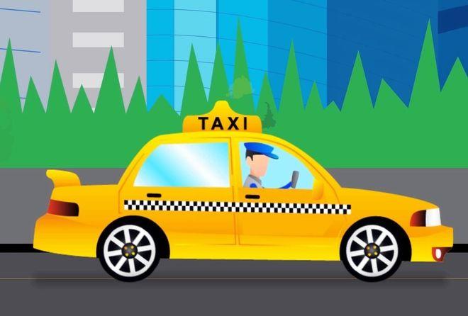 hình ảnh xe taxi