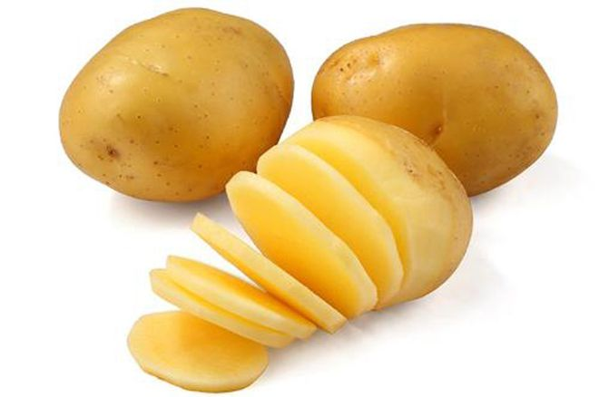 khoai tây thái lát