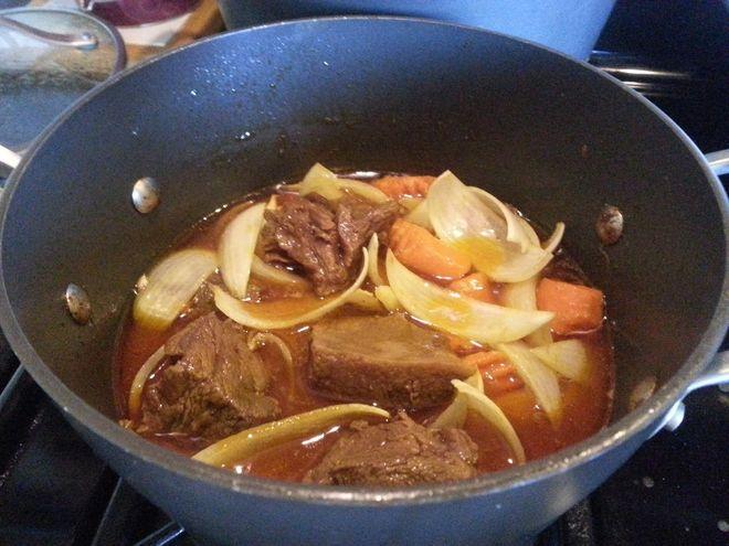 kho thịt bò