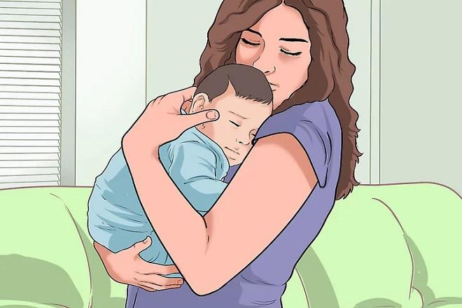 mô phỏng cách bế trẻ sơ sinh
