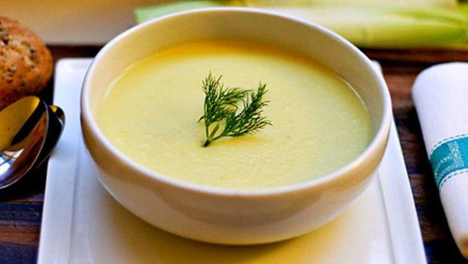 súp phô mai khoai tây