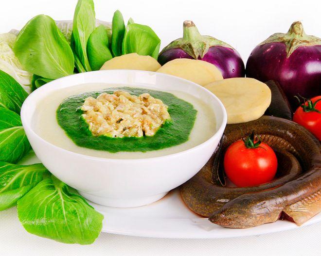 nấu bột ăn dặm cho trẻ từ nhiều thực phẩm tươi