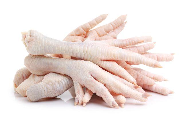 chân gà