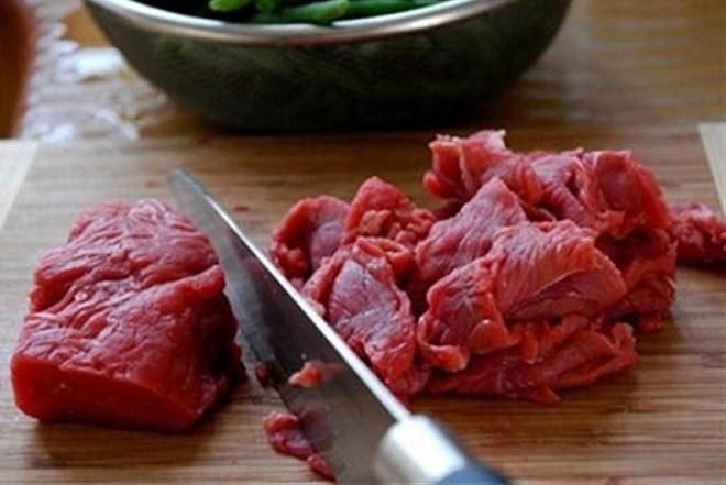thái thịt bò