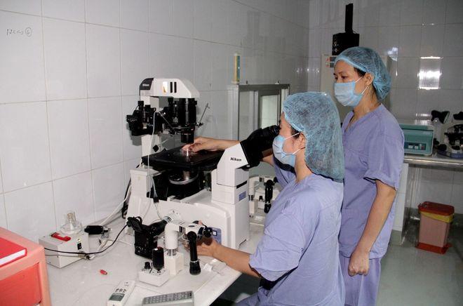 kiểm tra mẫu tinh trùng
