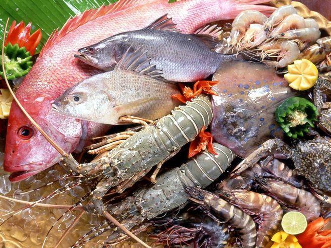 hải sản rất giày omega 3