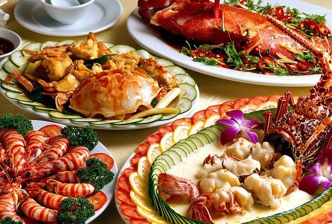 ăn hải sản giúp tăng canxi