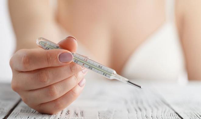 nhiêt độ cơ thể khi mang thai tăng nhẹ