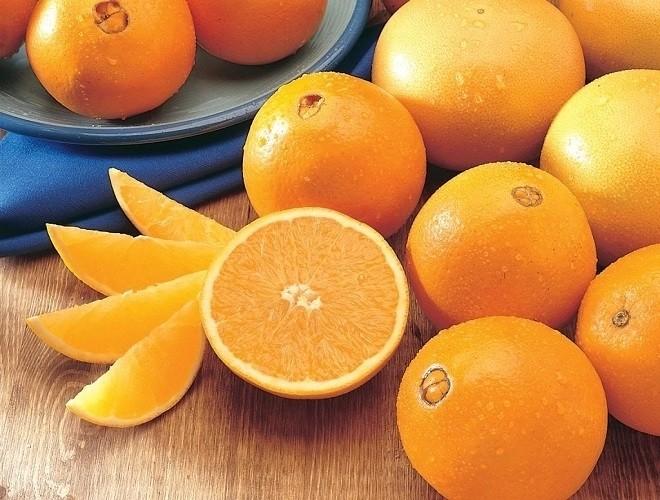 chuẩn bị cam vàng