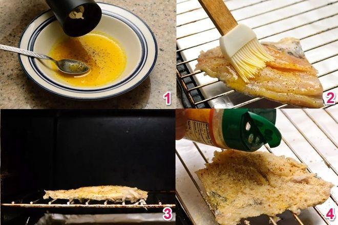 quét bơ lên cá phi lê