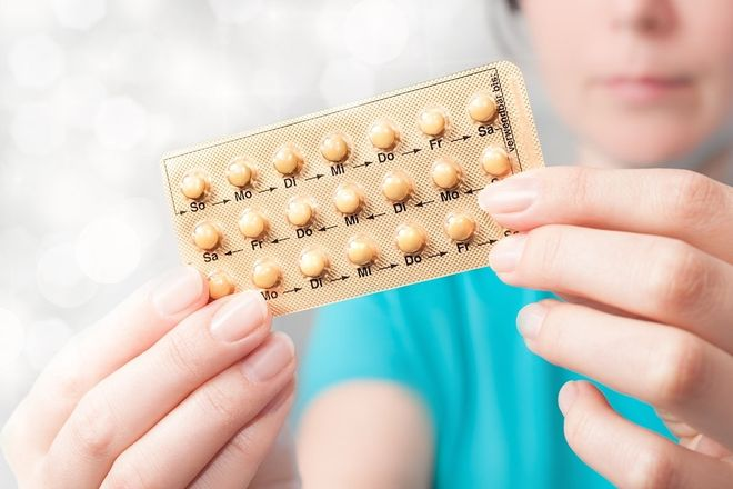 viên thuốc ngừa thai
