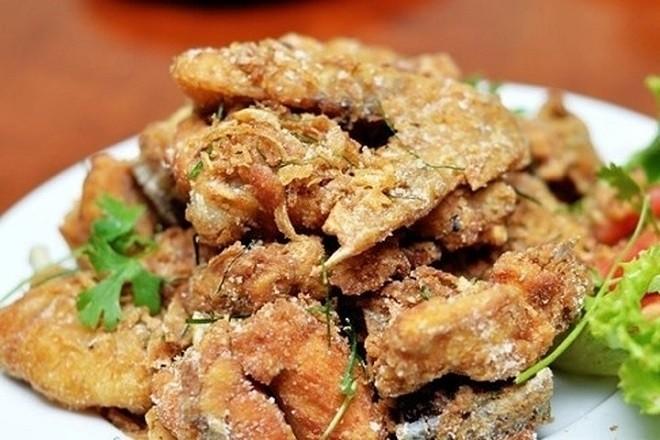thịt gà rang muối