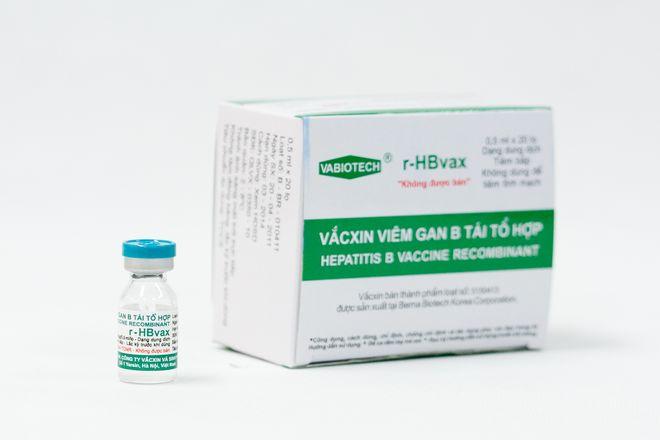 vắc xin viêm gan b tái tổ hợp