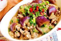 Cà tím xào thịt - món ngon giản dị cho bữa cơm gia đình
