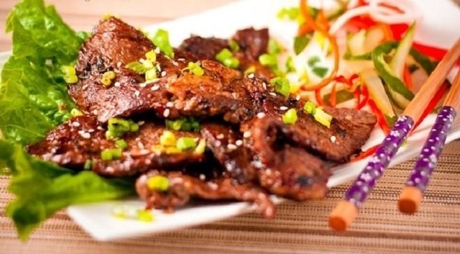 Thịt bò nướng luôn cuốn hút bởi hương vị tuyệt ngon