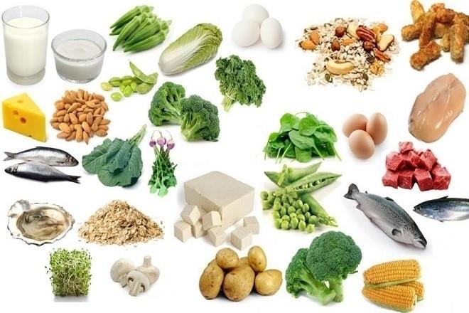 các loại thực phẩm cần bổ cung cho bé