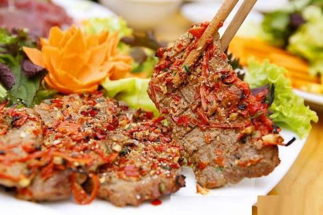 cách nướng thịt bò sa tế