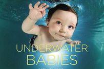 Bộ ảnh bé ngụp lặn dưới nước cực đáng yêu