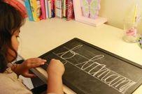 4 chiến thuật dạy bé học viết chữ tại gia