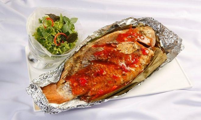 ướp gia vị cho cá