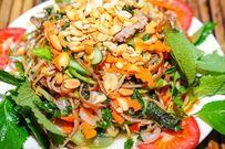 Gỏi gà hoa chuối - món ngon ăn là ghiền