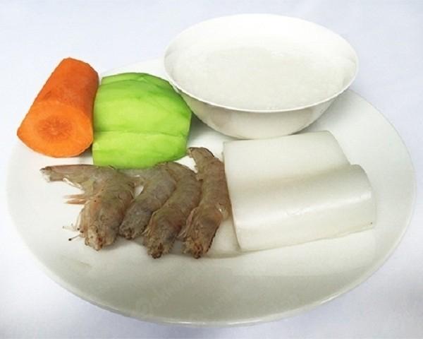 cháo tôm là một trong các món cháo cho bé ăn dặm giàu dinh dưỡng