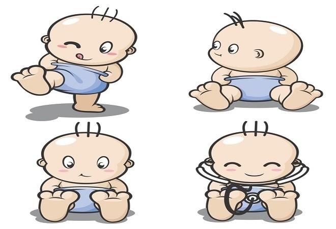 trẻ sơ sinh quan sát