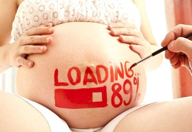 Bụng bầu căng cứng có phải dấu hiệu sắp sinh