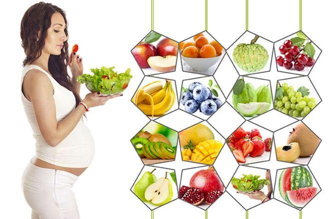 dinh dưỡng mẹ bầu